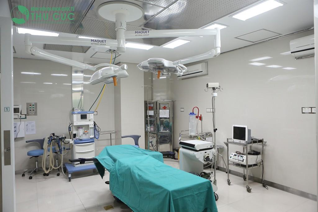 Thu Cúc sử dụng máy móc thiết bị hiện đại bậc nhất, rút ngắn thời gian điều trị và mang lại hiệu quả cao hơn cho khách hàng