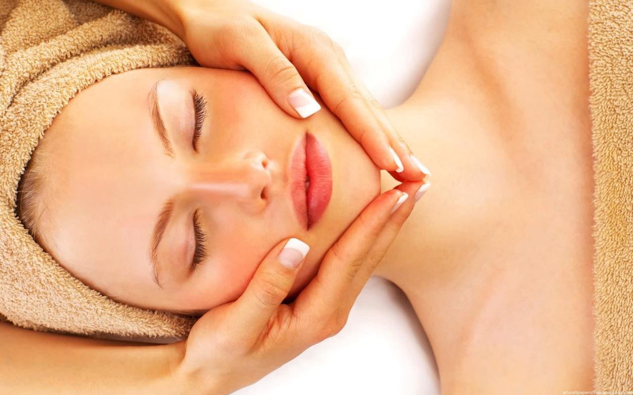 Dịch vụ massage mặt
