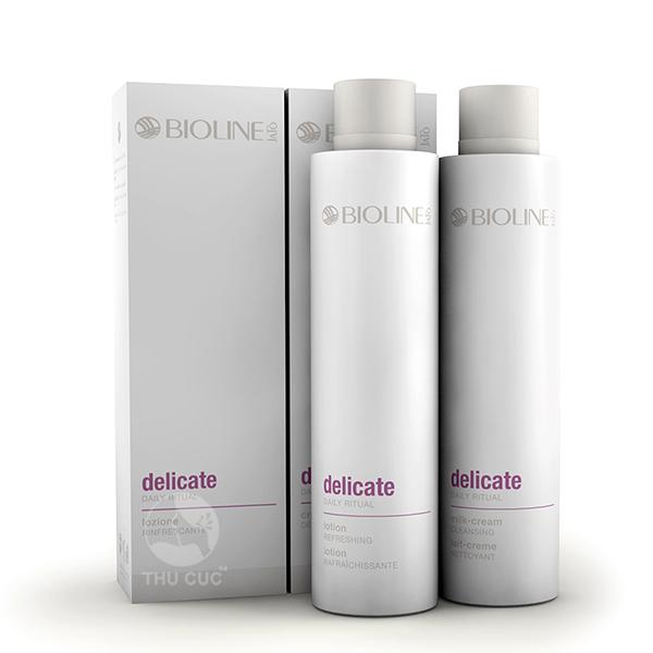 Bộ sản phẩm Delicate nhẹ nhàng chăm sóc làn da nhạy cảm