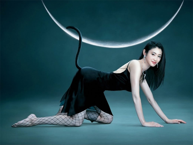 Cô xếp ở vị trí thứ 4 trong top 10 làn da đẹp Nhật Bản