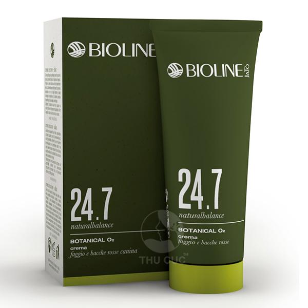 Sản phẩm kem dưỡng thảo mộc cung cấp Oxy trong dòng chống lão hóa 24.7 Natural Balance từ thương hiệu chăm sóc sức khỏe làn da cao cấp Bioline Jato