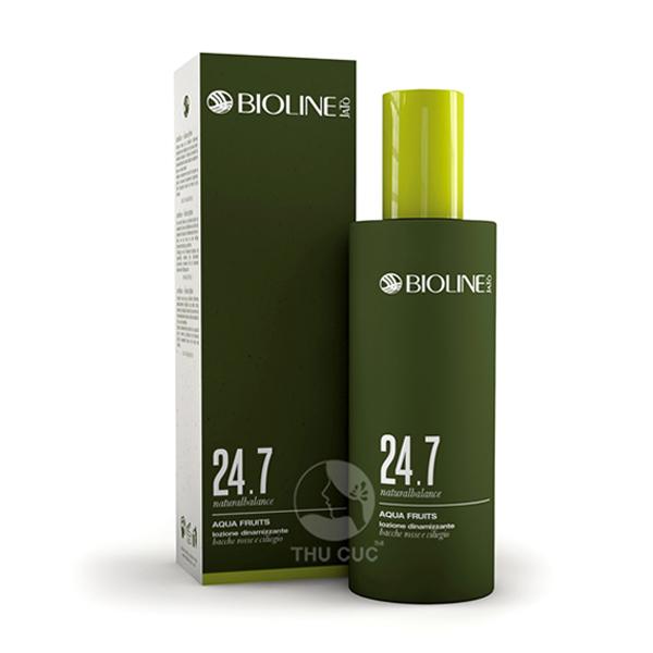 Sản phẩm nước hoa hồng tươi trẻ làn da 24.7 từ thương hiệu Bioline Jato cao cấp số 1 nước Ý