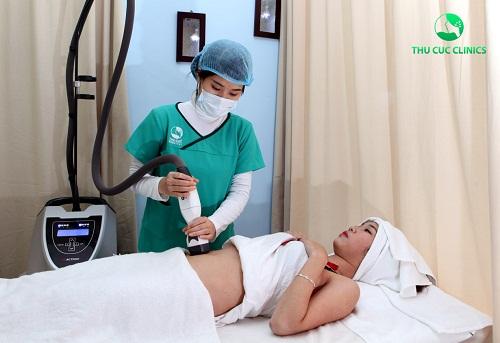 Giảm béo bằng công nghệ Lipo Cavication tại Thu Cúc.