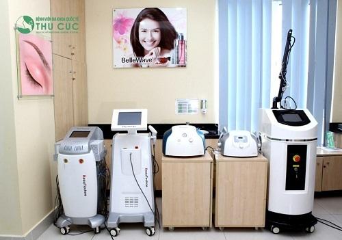 Các công nghệ trị mụn hiện đại đang được ứng dụng tại Thu Cúc.
