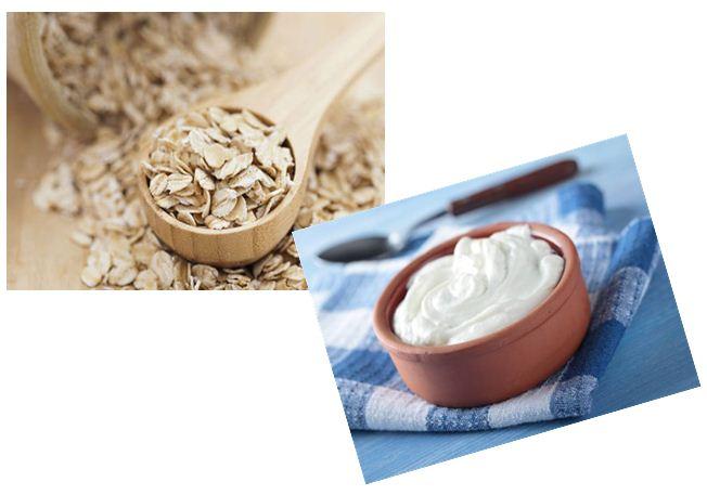 Hỗn hợp sữa chua và bột yến mạch có tác dụng kháng viêm và trị thâm hiệu quả