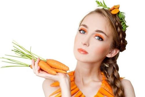 Cà rốt được coi là thần dược trị mụn, làm đẹp da