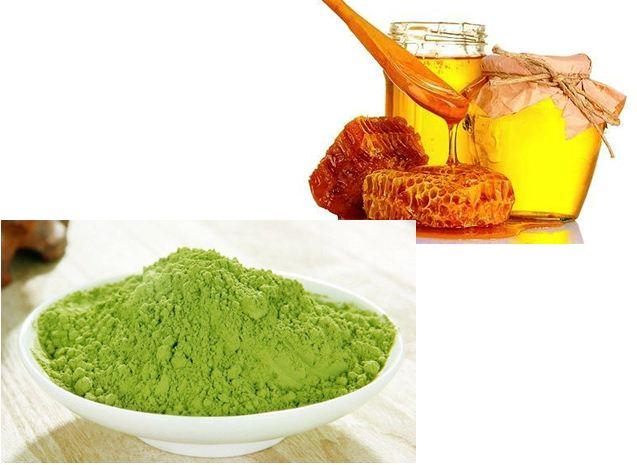 Hỗn hợp matcha, mật ong và sữa chua không đường có tác dụng điều trị mụn và xóa mờ vết thâm hiệu quả