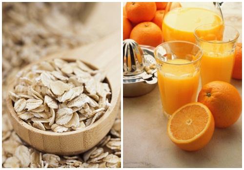 Bạn cần bảo vệ da cẩn thận khi sử dụng hỗn hợp tắm trắng yến mạch, cam và sữa chua