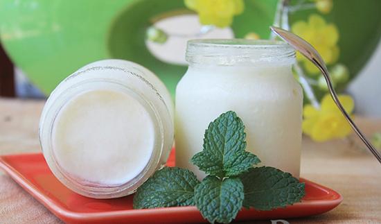 Để cải thiện sắc tố da và loại bỏ vi khuẩn khỏi cơ thể thì hỗn hợp sữa chua bạc hà là lựa chọn thích hợp nhất