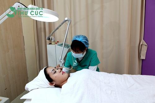 Bệnh viện Đa Khoa Thu Cúc là địa chỉ tẩy nốt ruồi được đông đảo tín đồ làm đẹp tin tưởng.