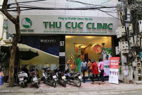Thu Cúc Clinic Nguyễn Khắc Hiếu là trụ sở chính, được rất nhiều khách hàng biết đến.
