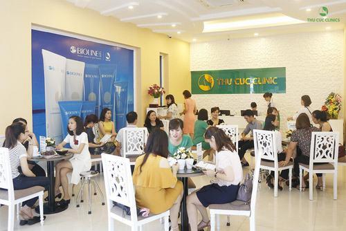 Thu Cúc Clinics là địa chỉ làm đẹp uy tín lâu năm, được hàng triệu khách hàng tin chọn.