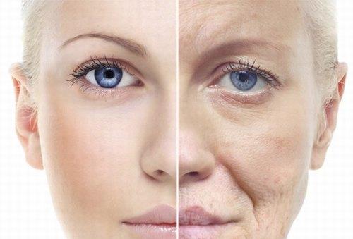 Lão hóa da là nỗi lo lắng thường trực của phần lớn phái đẹp.