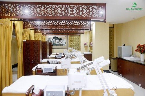 Điều khiến gây ấn tượng đầu tiên với các khách hàng Quảng Ninh là sự đầu tư nghiêm túc về cơ sở vật chất, trang thiết bị và công nghệ hiện đại của Thu Cúc Clinic.