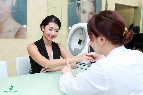 Phương pháp tắm trắng phi thuyền phù hợp với khách hàng có làn da thâm sạm
