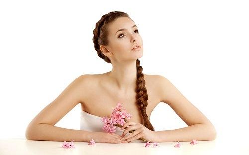 Làn da sau khi sử dụng dịch vụ tẩy tế bào chết bằng muối sữa chua sẽ mịn màng khỏe khoắn