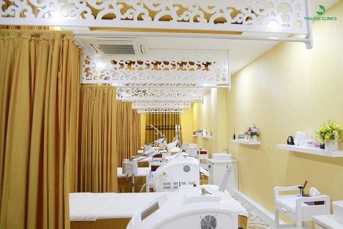 Máy móc hiện đại là đặc điểm vượt trội của Thu Cúc Clinic Bắc Ninh.