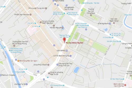 Cơ sở 2: Thu Cúc Clinic Tây Sơn