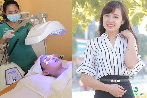Thu Cúc Clinics là địa chỉ spa trị mụn ở Hà Nội được hàng triệu khách hàng tin yêu, lựa chọn.(Lưu ý: Hiệu quả thẩm mỹ còn tùy thuộc vào cơ địa của mỗi người).