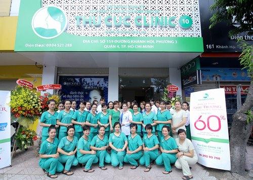 Sự xuất hiện của các cơ sở làm đẹp cao cấp, an toàn của thương hiệu Thu Cúc Clinics tại Sài Gòn đã giúp thương hiệu này nhanh chóng trở thành spa uy tín tại tpHM được yêu thích nhất.