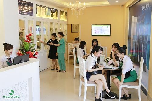 Thẩm mỹ Thu Cúc là một trong những spa uy tín tại Sài Gòn được các tín đồ làm đẹp yêu thích, tin chọn và đánh giá cao về chất lượng dịch vụ.