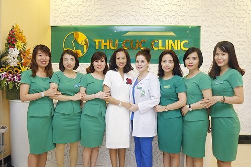 Thu Cúc Clinic Bà Triệu luôn tấp nập khách hàng đến làm đẹp