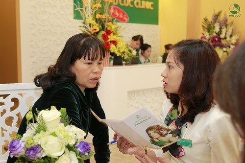Mỗi khách hàng khi đến với Thu Cúc Clinic Nguyễn Văn Huyên đều được dịp hiểu thấu làn da và trải nghiệm những giải pháp làm đẹp khoa học, phù hợp nhất với nhu cầu và tình trạng của mỗi người.
