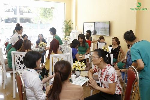 Các dịch vụ làm đẹp tại Thu Cúc Clinics nhận được quan tâm của đông đảo khách hàng