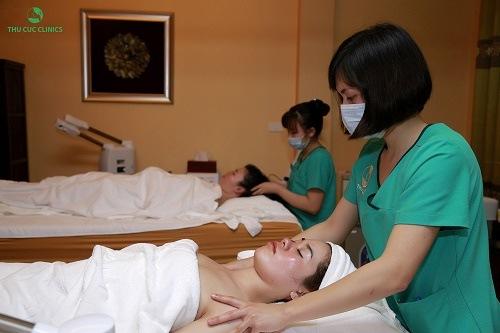 Phương pháp trị liệu giải độc tố toàn thân giúp khách hàng giải độc tố trên da, giảm căng thẳng
