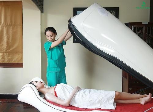 Tắm trắng an toàn và hiệu quả tại Thu Cúc Clinics.