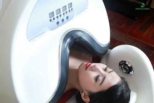 Thu Cúc Clinics áp dụng thành công công nghệ tắm trắng tiến tiến.