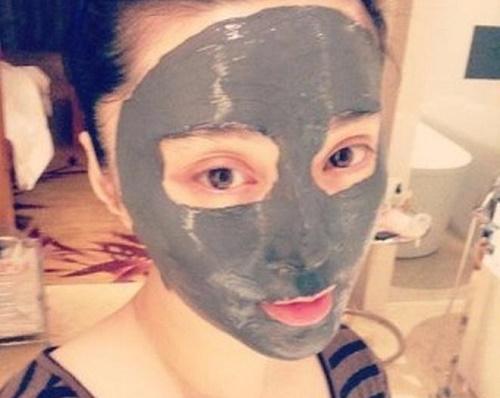 Phạm Băng Băng rất yêu thích các loại mặt nạ dưỡng da.