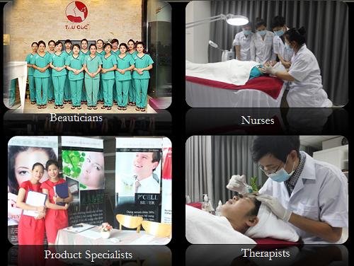 Tại Việt Nam, Thu Cúc Clinics là đối tác độc quyền của Tập đoàn Kencare (Singapore), là nơi ứng dụng độc quyền liệu pháp làm đẹp bằng công nghệ tế bào gốc.