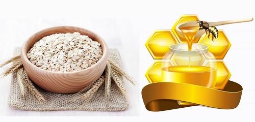 Công thức tắm trắng bằng bột yến mạch, nước cốt chanh và mật ong