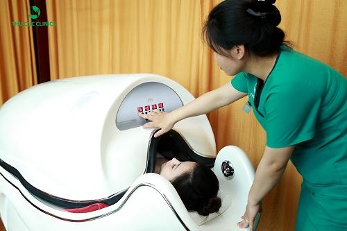 Tắm trắng phi thuyền giúp làm trắng da từ bên trong, giúp các dưỡng chất thẩm thấu vào da nhanh hơn.