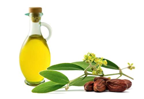 Tinh dầu jojoba có ác dụng nuôi dưỡng da khỏe mạnh từ bên trong.