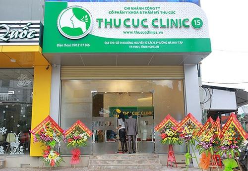 Thu Cúc Clinics Nghệ An là địa chỉ tắm trắng an toàn cho các chị em.