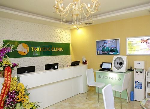 Thu Cúc Clinics đang áp dụng nhiều phương pháp tẩy da chết an toàn.