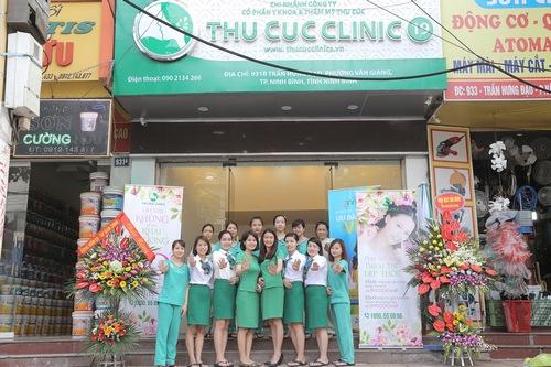 Thu Cúc Clinics - địa chỉ trị mụn uy tín tại Ninh Bình