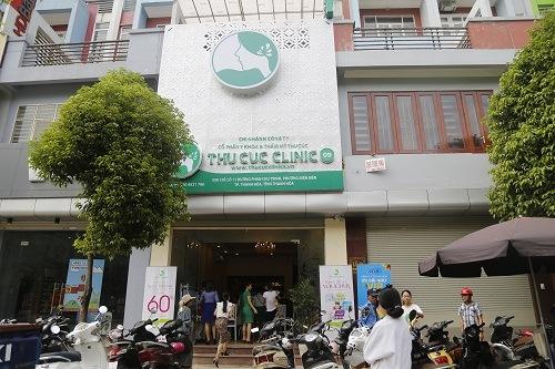 Thu Cúc Clinics là một trong những spa trị mụn tại Thanh Hóa uy tín, chất lượng