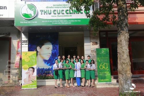 Thu Cúc Clinic Lạng Sơn là một trong những spa trị mụn uy tín đang được chị em tin chọn