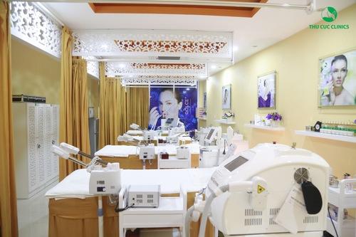 Không gian làm đẹp tại Thu Cúc Clinics sang trọng đẳng cấp