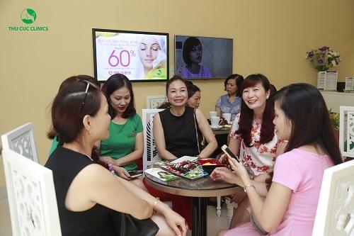 Dịch vụ trị mụn tại Thu Cúc Clinic Lạng Sơn được đông đảo chị em quan tâm