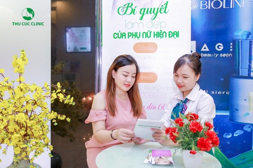 Thu Cúc Clinics tự hào là thương hiệu uy tín mà chị em có thể tin tưởng lựa chọn, yên tâm về chất lượng dịch vụ tại đây.