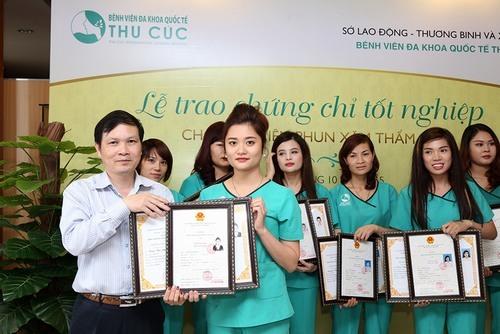 Sau khóa học học viên sẽ được nhận bằng chứng chỉ do sở Lao động, Thương binh và Xã hội (LĐTBXH) cấp – bằng chứng nhận mang tiêu chuẩn Quốc gia Việt Nam.