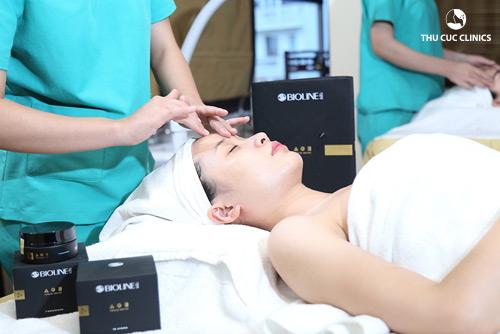 """Làn da sẽ được """"nâng niu và chiều chuộng"""" toàn diện khi chăm sóc tại Thu Cúc Clinics"""