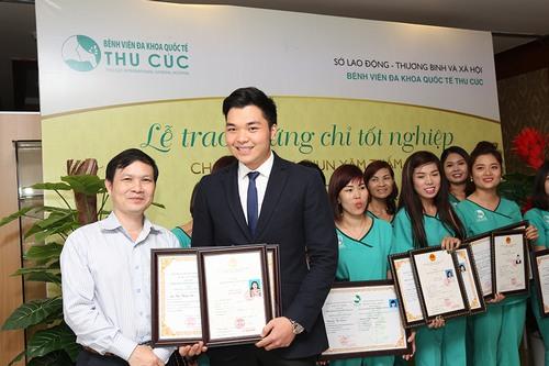 Học viên được cấp chứng chỉ do sở Lao động, Thương binh và Xã hội (LĐTBXH) cấp – chứng nhận mang tiêu chuẩn Quốc gia Việt Nam.