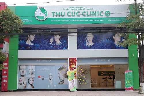 Thu Cúc Clinics Bắc Giang. Địa chỉ số617-619đường Lê Lợi, phường Dĩnh Kế, Thành phố Bắc Giang