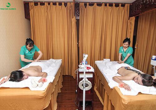 Thu Cúc Clinics Quảng Ninh giúp chị em được làm đẹp và chăm sóc da chuyên sâu và tiết kiệm thời gian di chuyển.