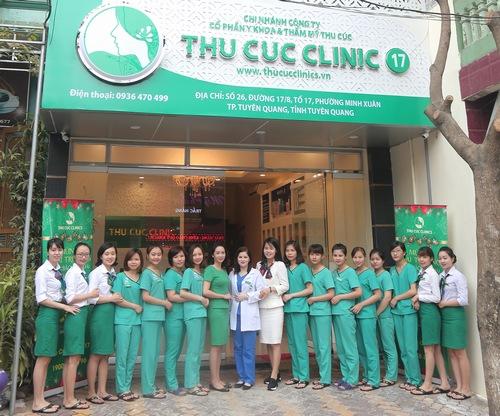 Tại Thu Cúc Clinics quy tụ đội ngũ bác sĩ, kỹ thuật viên giàu kinh nghiệm